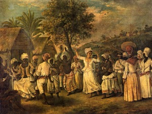 Dance, St. Vincent, West Indies, ca. 1775