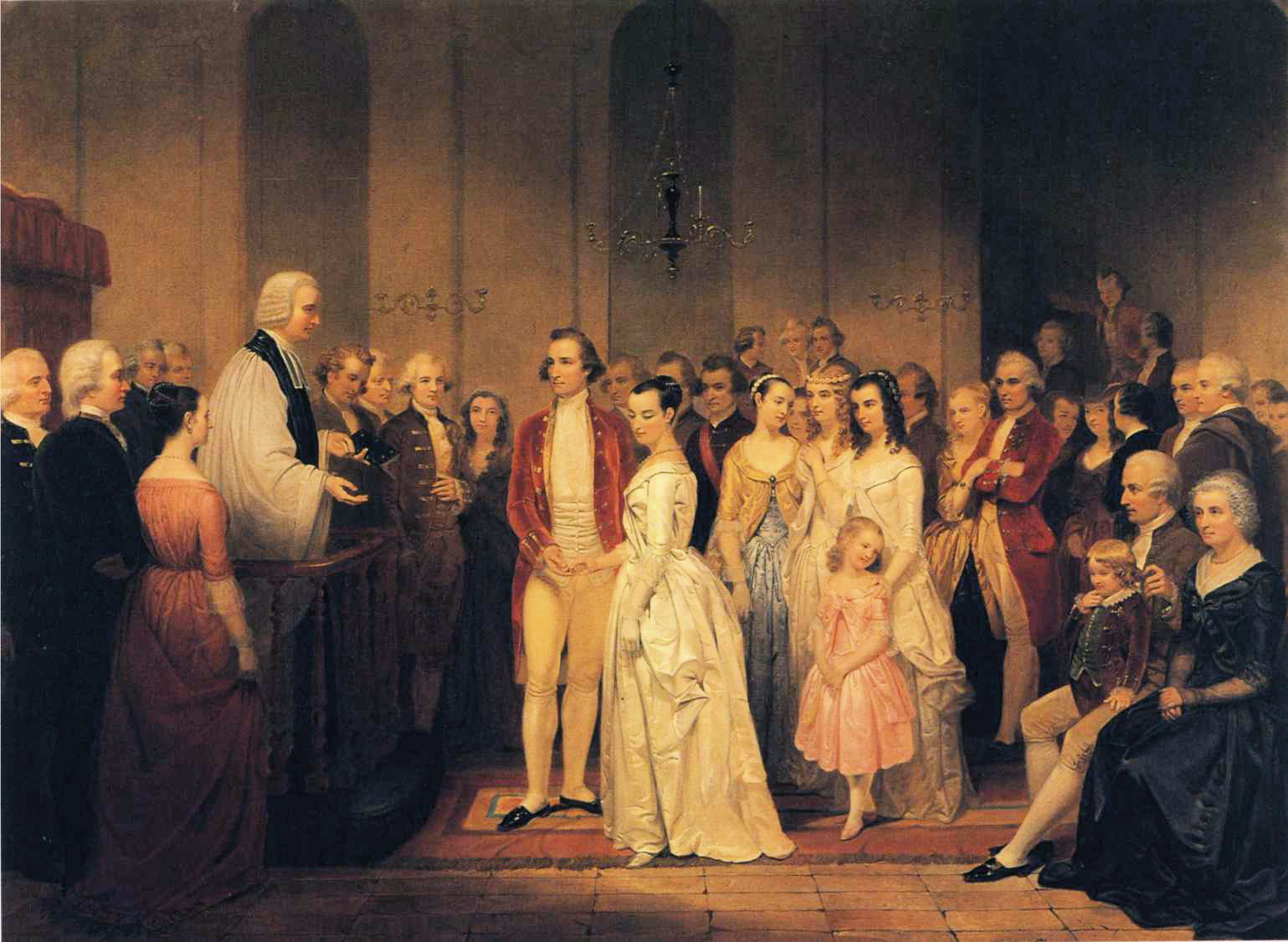 Junius Brutus Stearns - The Marriage of George Washington to Martha Custis.JPG