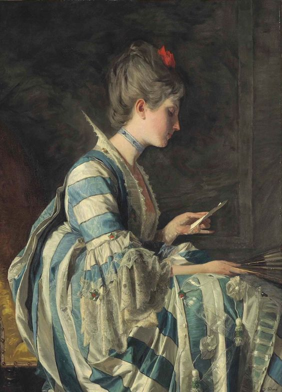 the-letter-oil-on-canvas-114-3-x-83-1-cm-art-by-domenico-induno-1815-1878