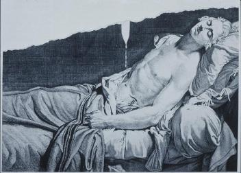 Le Peletier de Saint-Fargeau on His Deathbed, 1793, engraving.jpg