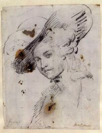 eorgian-empress- Sketch of Mary Robinson by Sir Joshua Reynolds. 1782..jpg