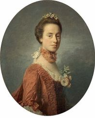 Mary Digges, Lady Robert Manners (1737 - 1829), by Allan Ramsay, NG1523, National Gallery, Scotland