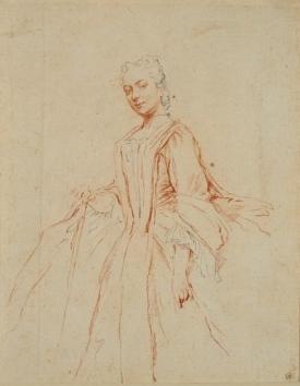 Alexandre Roslin (1718-1793) | Portrait de Mme Boucher
