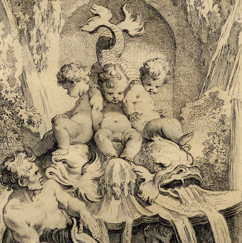 Antique Fountain Putti Cherub Francois Boucher Rococo Aveline ... Pinterest999 × 1000Recherche par image.jpg