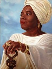Dr Maya Angelou by Henry Lee Battle