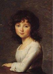 Marie Renee Louise de Fouquet, 1786, par Elisabeth Vigee-Lebrun
