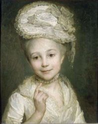 Daughter of the painter Emilie Vernet, mid 18th century, Nicolas Bernard Lépicié (1735-1784).jpg