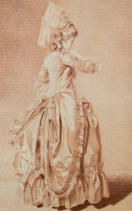 Elegant Woman, Late 1700s, Louis Rolland Trinquesse.jpg
