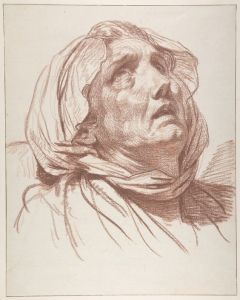 Jean-Baptiste Greuze (1725–1805), Head of an Old Woman.jpg