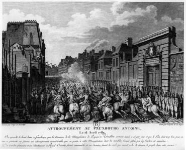 Le saccage de la manufacture Réveillon (avril 1789)