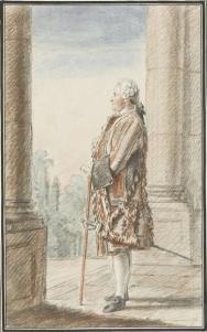 Monsieur Beller, suisse de Monsieur le duc d'Orléans Carmontelle (dit), Carrogis Louis (1717-1806) , peintre.jpg