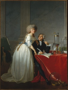 Portrait d'Antoine-Laurent Lavoisier et de sa femme - Jacques-Louis David. .jpg