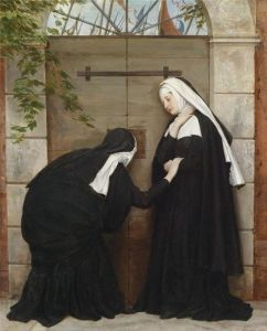 Eugene de Blaas I love nuns. They are mysterious and delightfully liminal figures..jpg