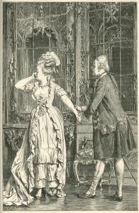 Heinrich Lossow, Illustration zu Friedrich Schiller, Kabale und Liebe