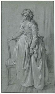 LOUIS-LÉOPOLD BOILLY STANDING YOUNG WOMAN WITH A CHAIR.jpg