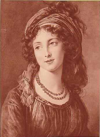 Louise Élisabeth Vigée Le Brun. La duchesse de Guiche, by Vigee Le Brun. Oil on canvas. 1794