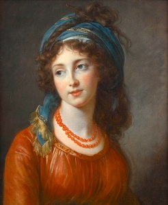 Louise Élisabeth Vigée Le Brun. La duchesse de Guiche, by Vigee Le Brun. Oil on canvas. 1794 .jpg