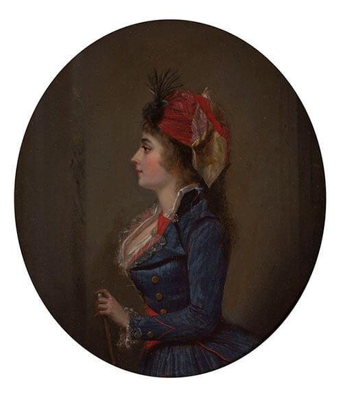 Portrait of Josephine de Beauharnais by Michel Garnier , 1790.jpg