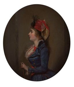 Portrait of Josephine de Beauharnais by Michel Garnier , 1790.jpg