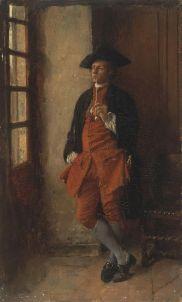 Smoker, Jean-Louis-Ernest Meissonier, French, (1815 - 1891) Hermitage Museum.jpg