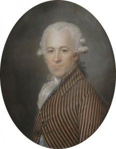 Attribué à Aleksander KUCHARSKI (1741 - 1819), 1793, Portrait présumé de Monsieur Barbot.jpg
