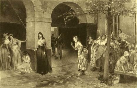 Madame Roland en prison Sainte-Pélagie.jpg