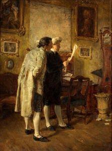 peintre allemand Carl Wilhelm Anton Seiler (1846-1921).jpg