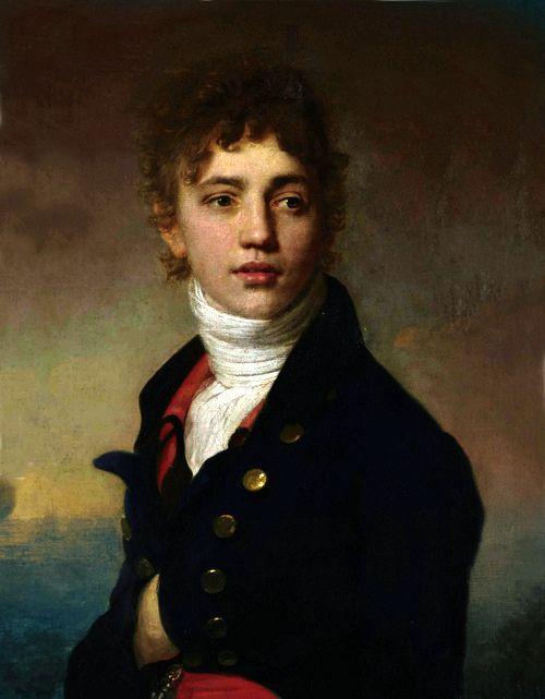 portrait de jeune homme en buste, Henri-Pierre Danloux, 1800-1809.jpg
