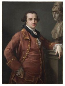 Portrait of John Monck, 1764 by Pompeo Girolamo Batoni .jpg