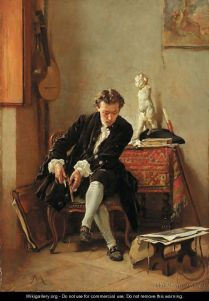 The young artist - Jean-Louis-Ernest Meissonier, French, (1815 - 1891) .jpg