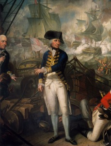 Lord Howe on the Deck of the 'Queen Charlotte', 1 June 1794 · .jpg