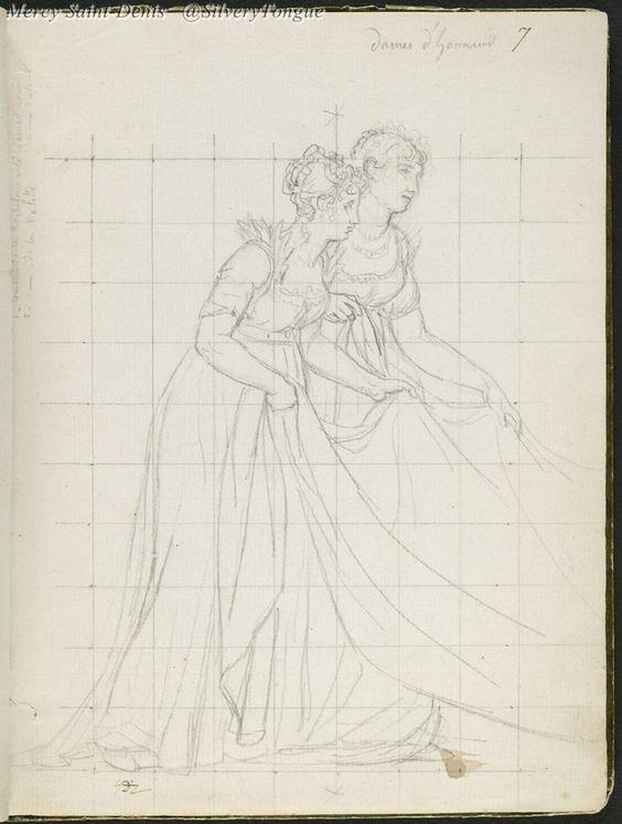 Comtesse De La Rochefoucauld And Comtesse De La Valette, Ladies-In-Waiting.jpg