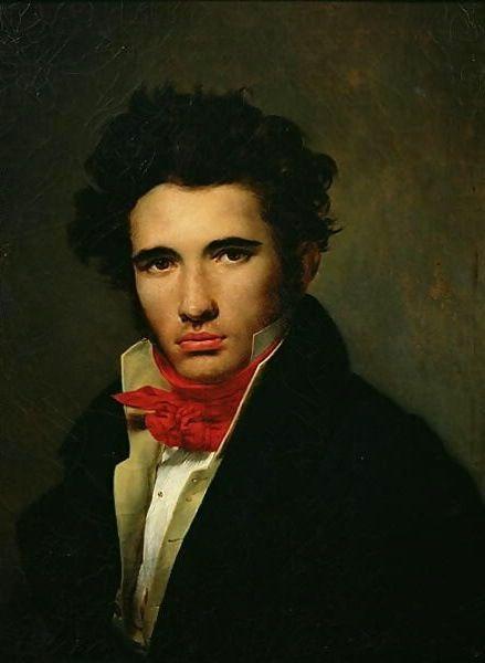 Self portrait of Leo Cogniet, c1817.jpg