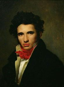 Self portrait of Leo Cogniet, c1817.jpg