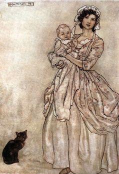 Peypédaut Jeanne (Arthur Rackham Rip Van Winkle 1905