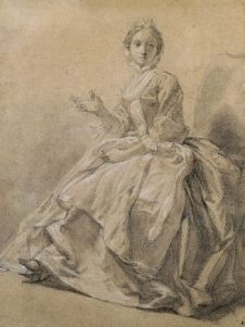 Étude d'une femme, 1744 Hubert-François Gravelot.jpg