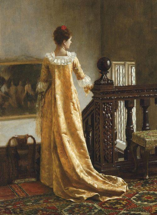 Edmund Blair Leighton (1853 - 1922) - The golden train, 1891.jpg