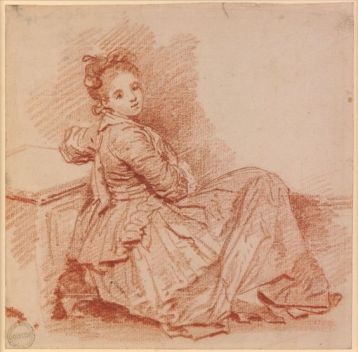 Peydédaut Blanche-Marie  (Fragonard - Study of a girl of the Sedaine family.jpg