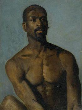 Alboury Ndiaye (Frank Buchser - Il negro