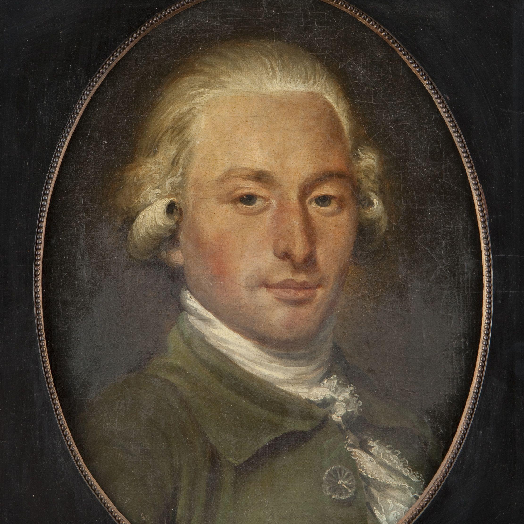 François-Benjamin Dumont de Montigny (Ecole française vers 1790, entourage de Danloux. Portrait d'homme à l'habit vert, tableau.jpg