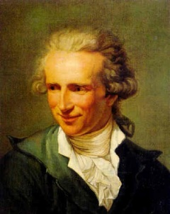 Jean Roussin (Portrait of a smiling man in a grey-blue jacket by Joseph Ducreux.jpg