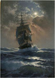 Marek Rużyk captent la magnifique Gloire des Navires en Mer
