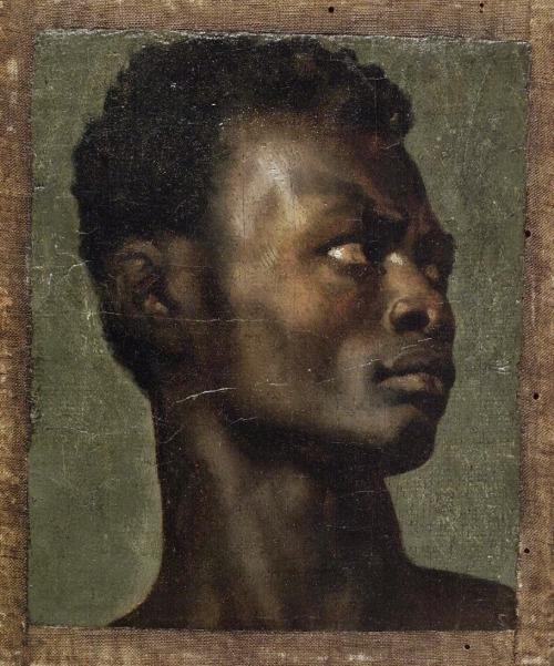 Alboury Ndiaye (Tête d'un africain - Jean-Paul Flandrin.jpg