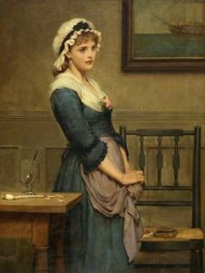 Blanche-Marie Peydédaut (MARCUS STONE, peintre britannique...( 1840 - 1921 ) - L'oeil......jpg
