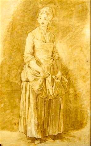 Martha (nicolas-bernard-lépicié-étude-de-jeune-fille