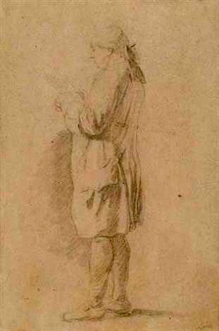 Mr Baron (Studies of standing customs officials pair par Nicolas Bernard Lépicié.jpg