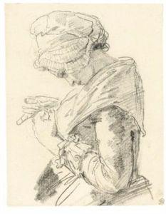 nicolas-bernard-lépicié-a-young-woman,-seen-in-profile,-half-length,-sewing.jpg