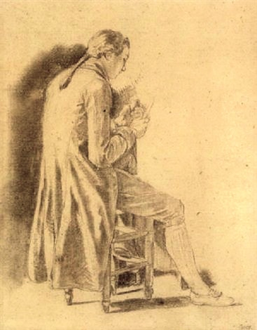 Thimothée Monrauzeau (Jeune homme assis de dos par Nicolas Bernard Lépicié.jpg