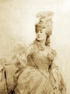 Bechade De Fonroche Marie Josèphe (Madame Veirac de Saint Agnan) (2)