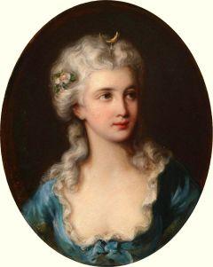 Portrait of a Lady said Portrait of Jeanne de Valois, Comtesse de la Motte Elisabeth-Louise Vigée Le Brun